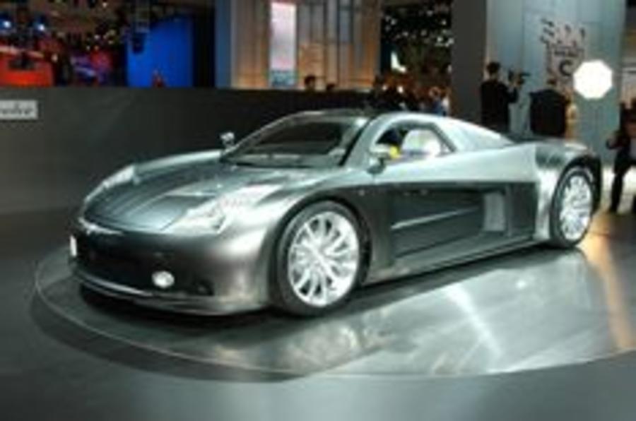 Chrysler's supercar up close