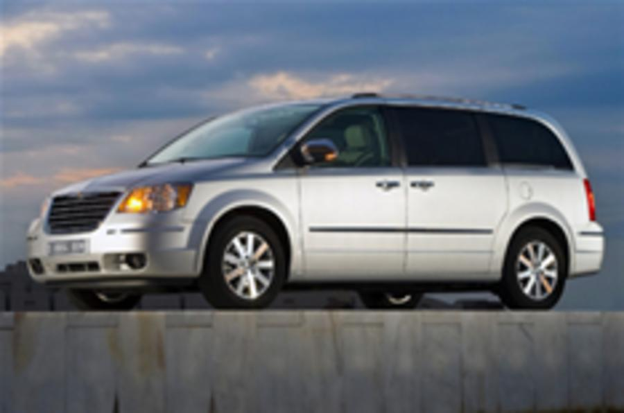 New Grand Voyager to launch early 2008