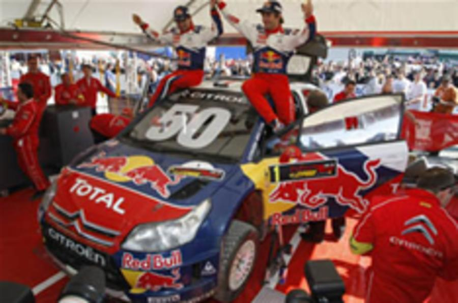 Loeb claims 50th WRC win