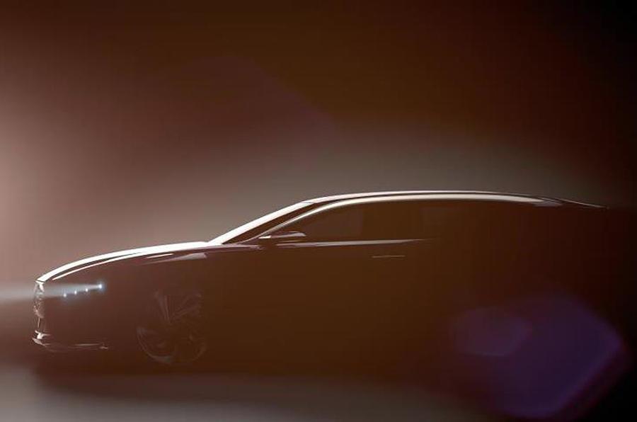 Citroën DS9 luxury saloon teased