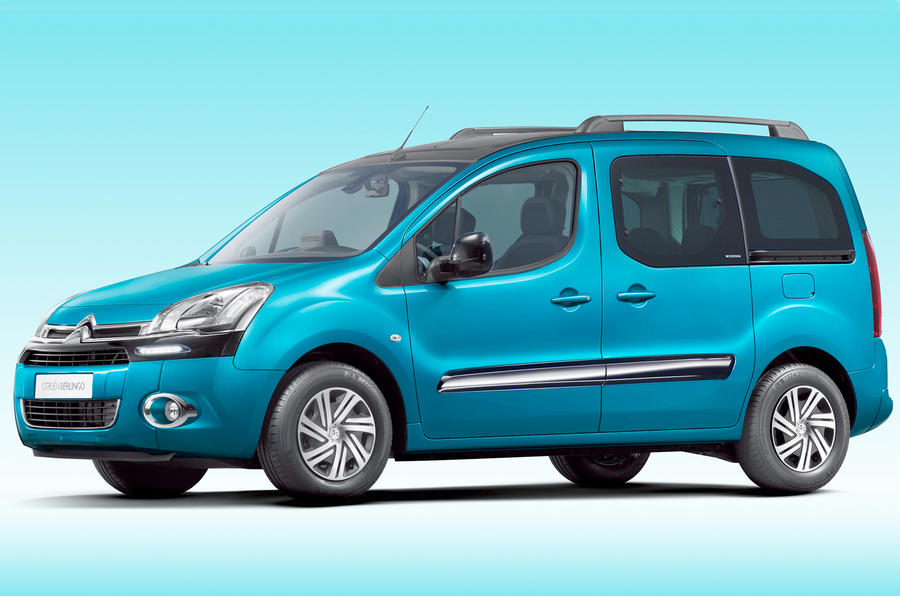Revised Citroën Berlingo shown