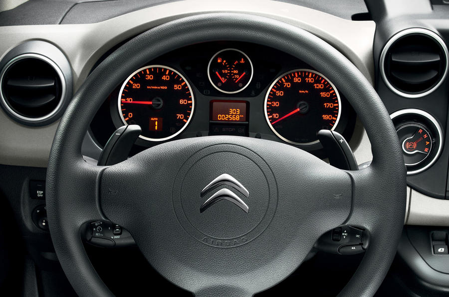 Revised Citroën Berlingo shown