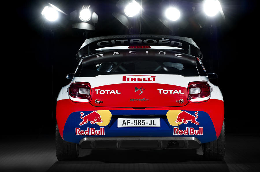 Paris motor show: Citroen DS3 WRC