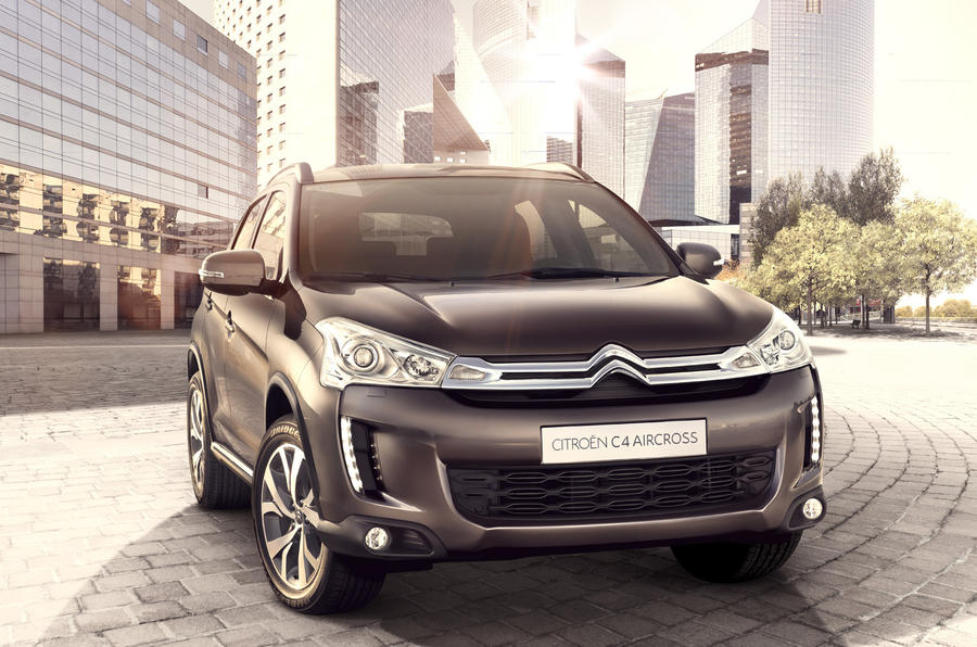 Citroën C4 Aircross revealed