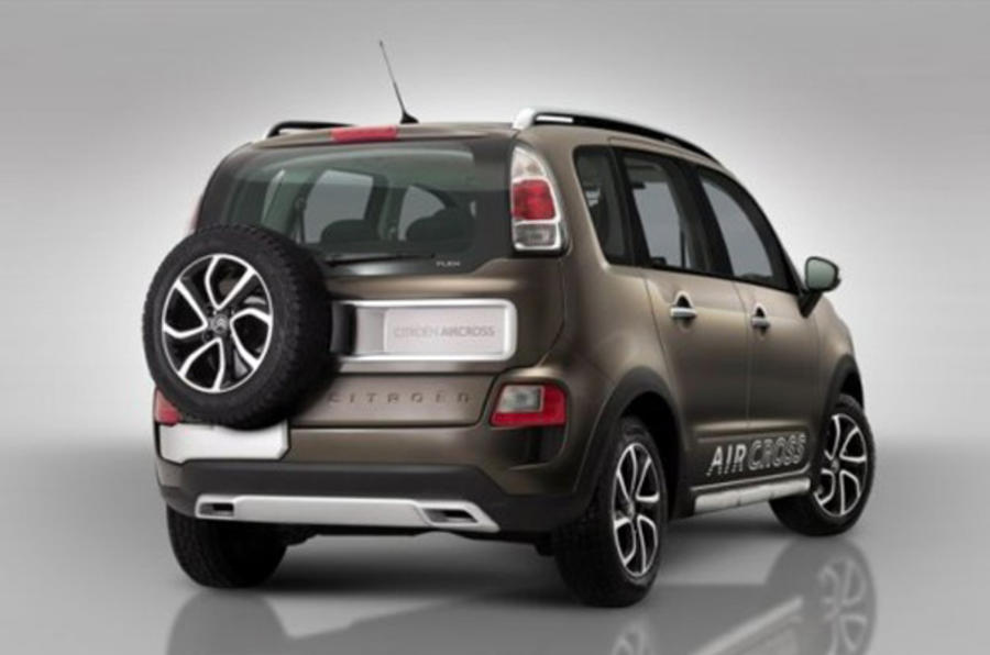 Citroen AirCross launched