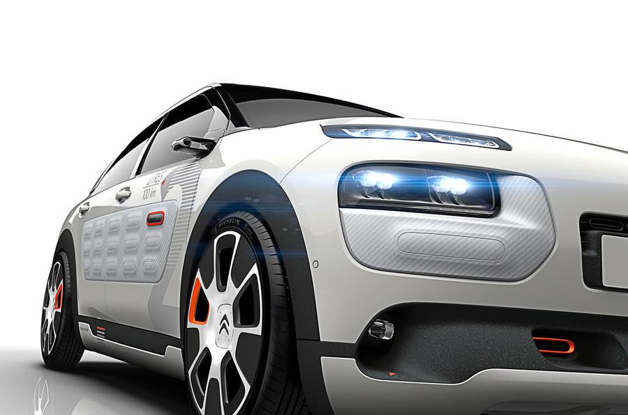 Citroën shows off 141mpg C4 Cactus concept