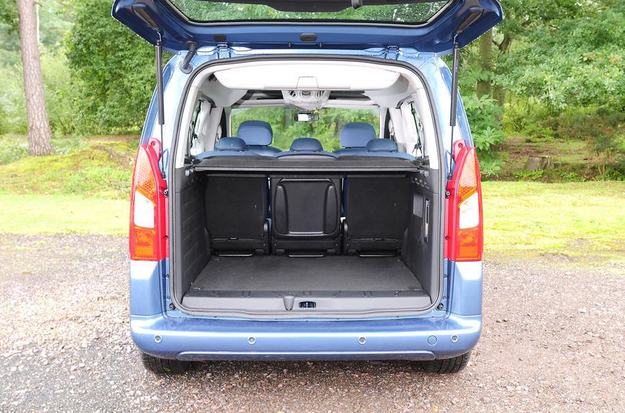 Citroën Berlingo seat flexibility
