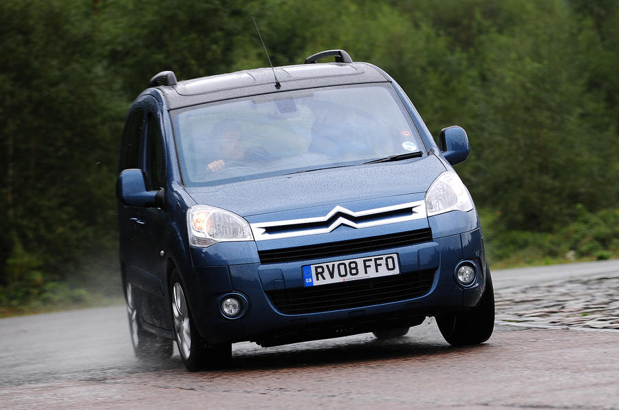 Citroën Berlingo cornering
