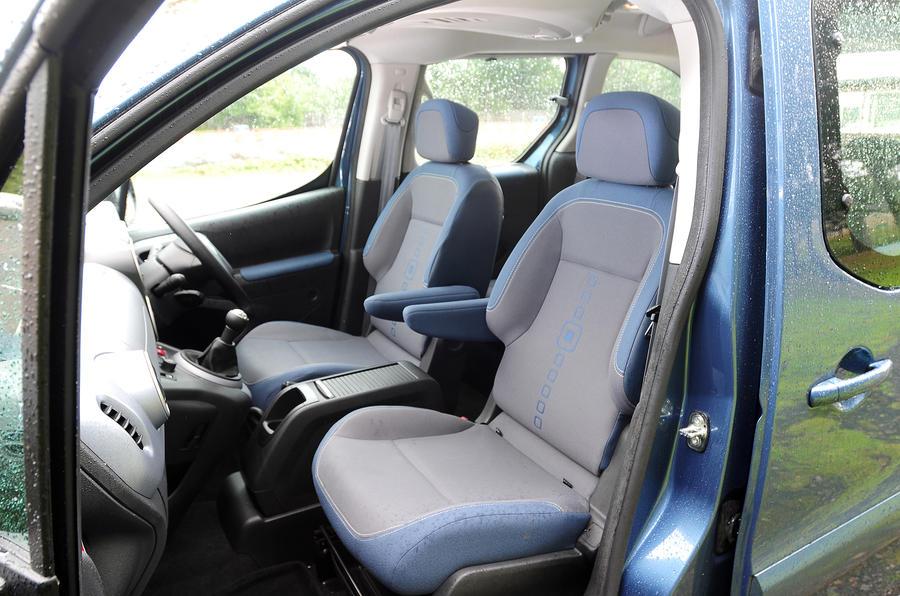 Citroën Berlingo front seats