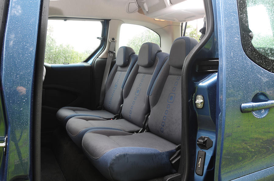 Citroën Berlingo middle seats