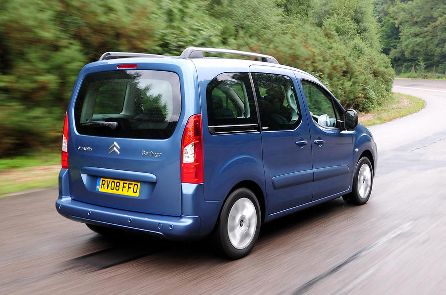 Citroën Berlingo rear quarter