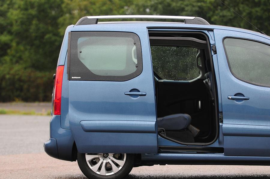 Citroën Berlingo sliding doors