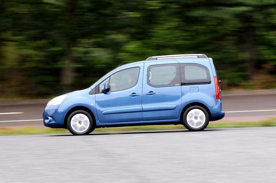 Citroën Berlingo side profile