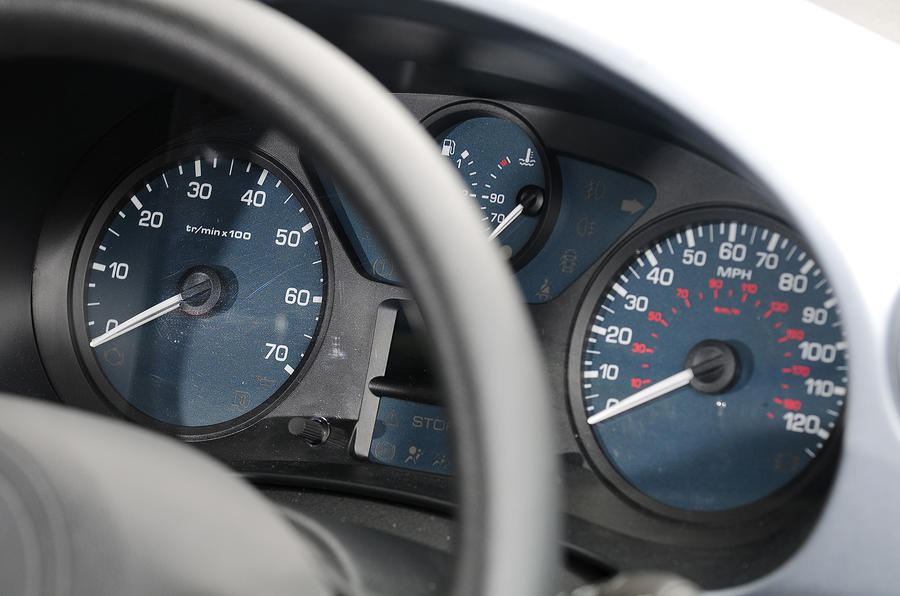 Citroën Berlingo instrument cluster