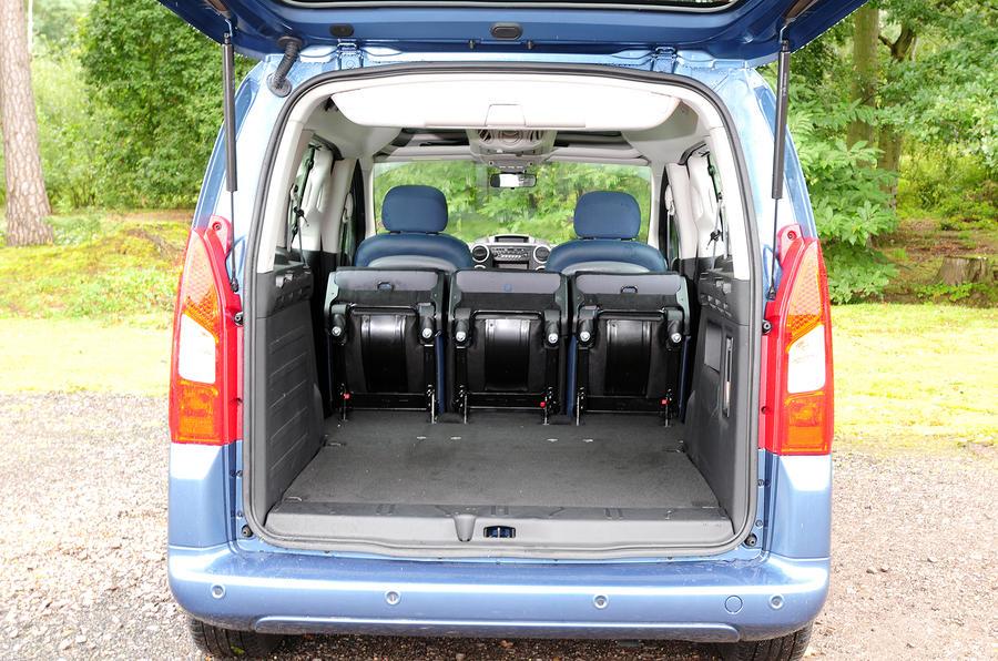 Citroën Berlingo boot space