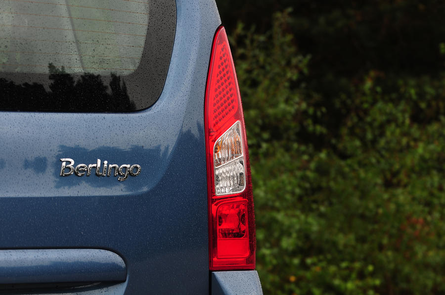 Citroën Berlingo tailights