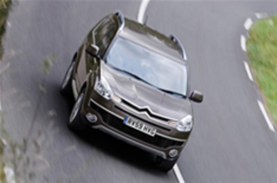 New Citroen C-Crosser launched