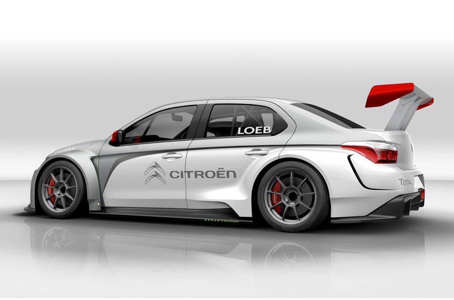 Citroen C-Elysee WTCC challenger revealed