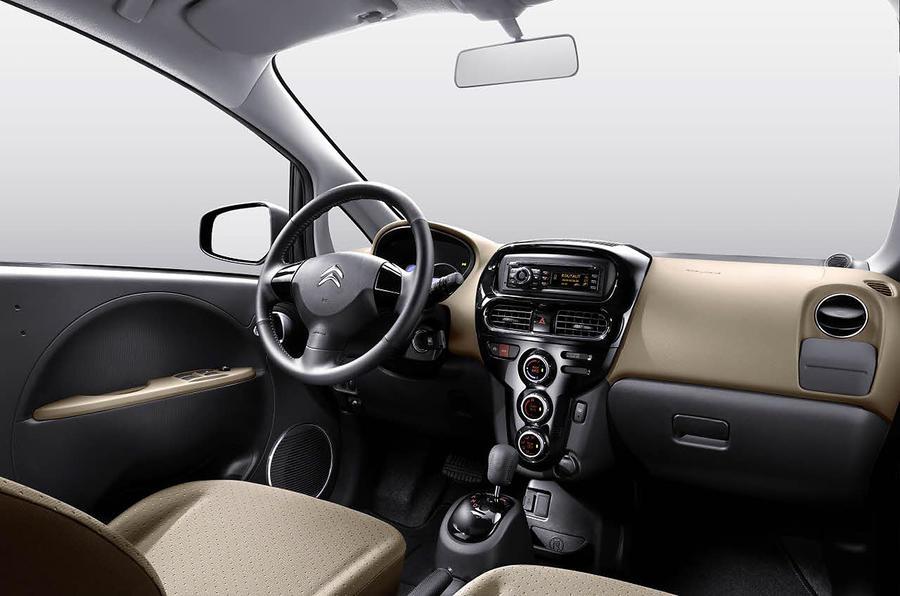 Citroën C-Zero interior