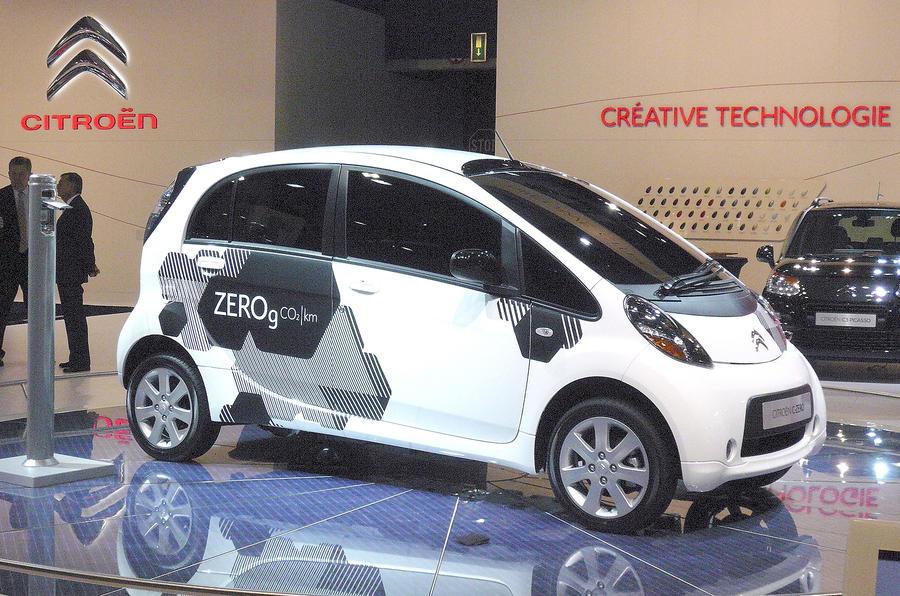 Paris motor show: Citroen C-Zero
