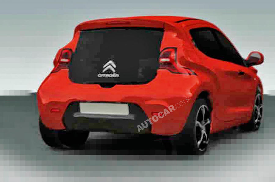New Citroen C1 - first pics
