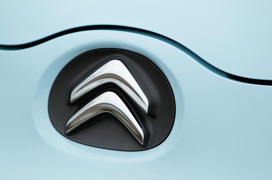 Citroën badging