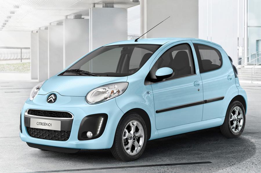 Revised Citroën C1 unveiled