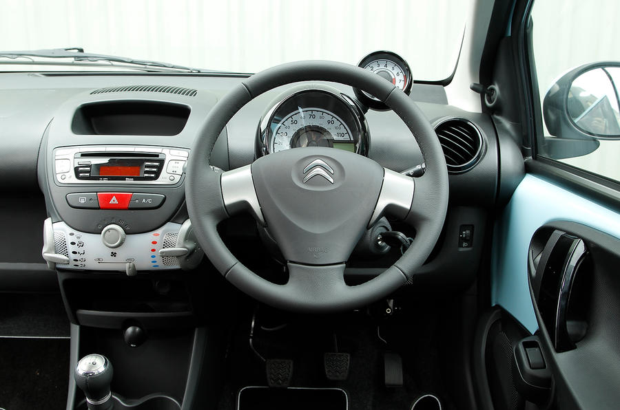 Citroën C1 interior
