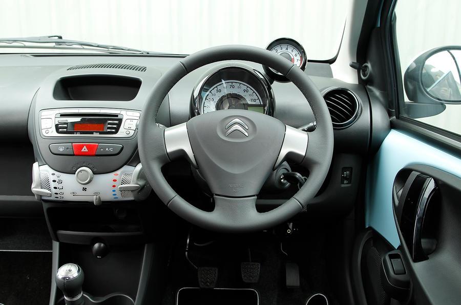 Citroën C1 interior