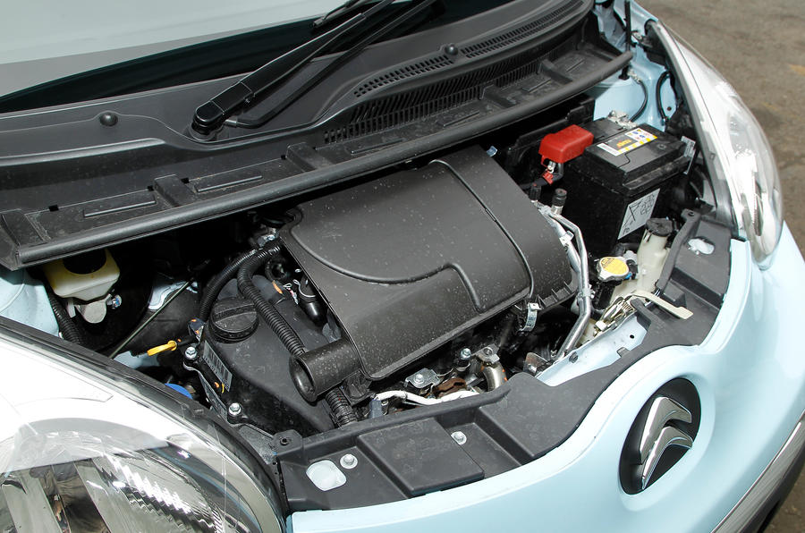 68bhp Citroën C1 engine