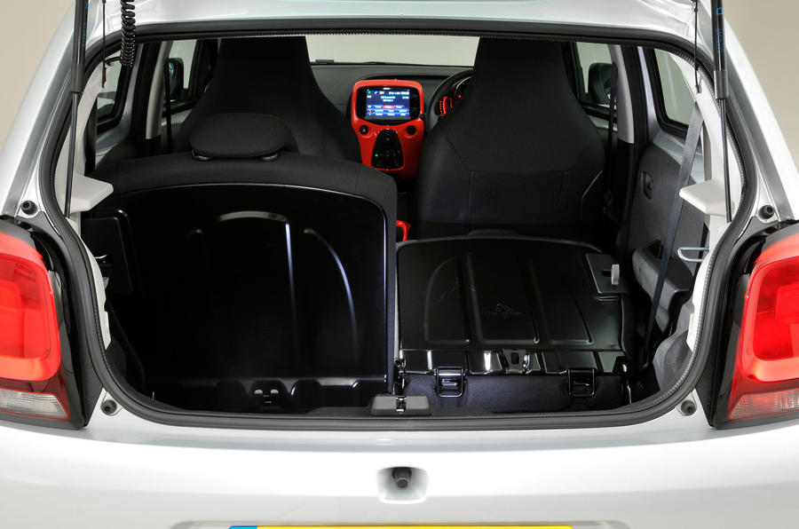 Citroen C1 boot space