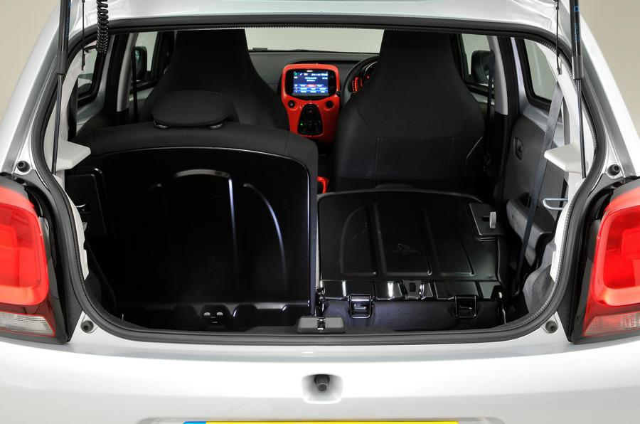 Citroen C1 boot space