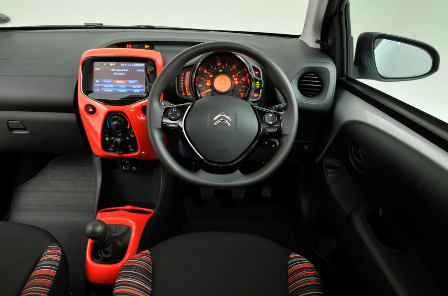 Citroen C1 dashboard