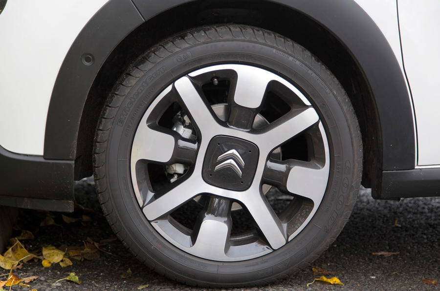 16in Citroën C3 alloy wheels