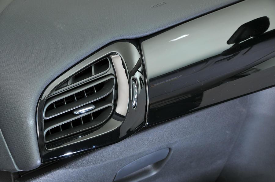 Citroën C3 air vents