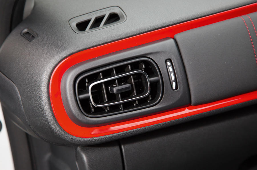 Citroën C3 air vents