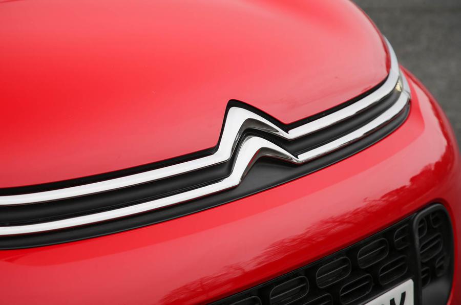 Citroen C3 Aircross 2018 review bonnet