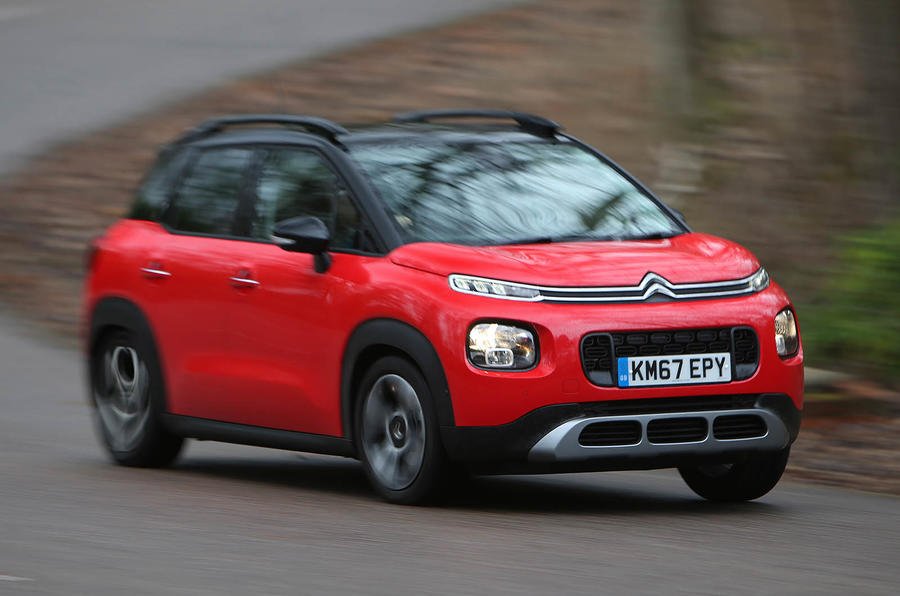 Citroen C3 Aircross 2018 review on the road cornering
