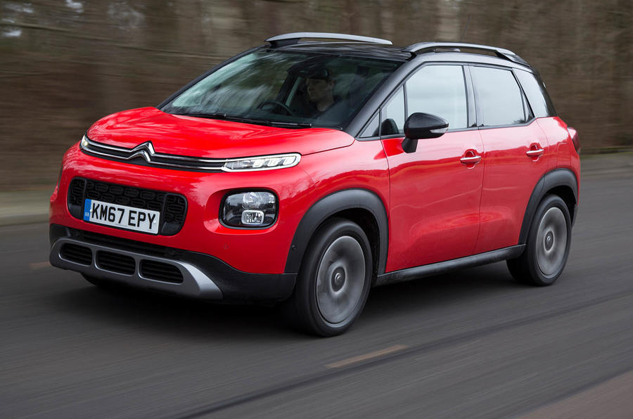 citroen c3 aircross review 2018 autocar. Black Bedroom Furniture Sets. Home Design Ideas
