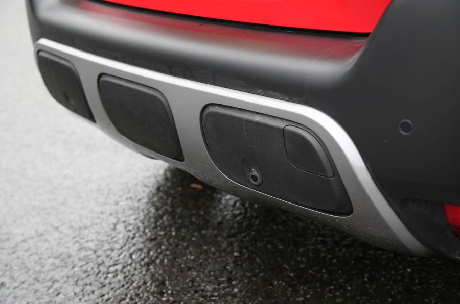 Citroen C3 Aircross 2018 review rear bumper