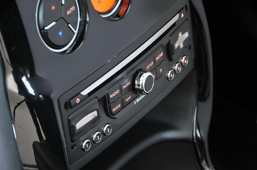 Citroën C3 audio system