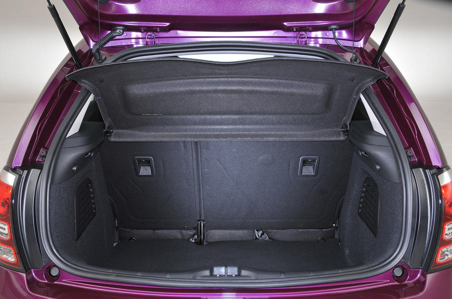 Citroën C3 boot space