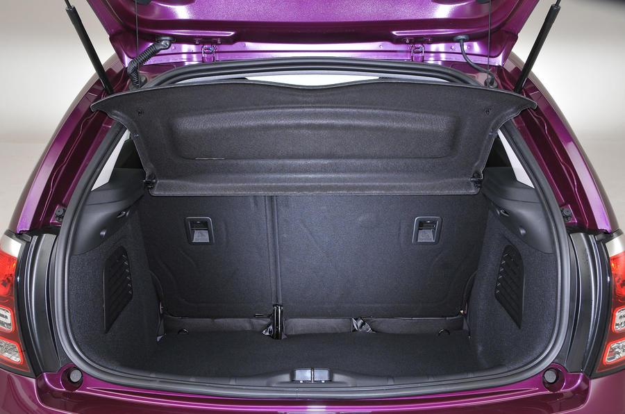 Citroën C3 boot space
