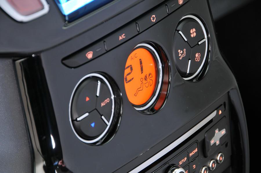 Citroën C3 climate control