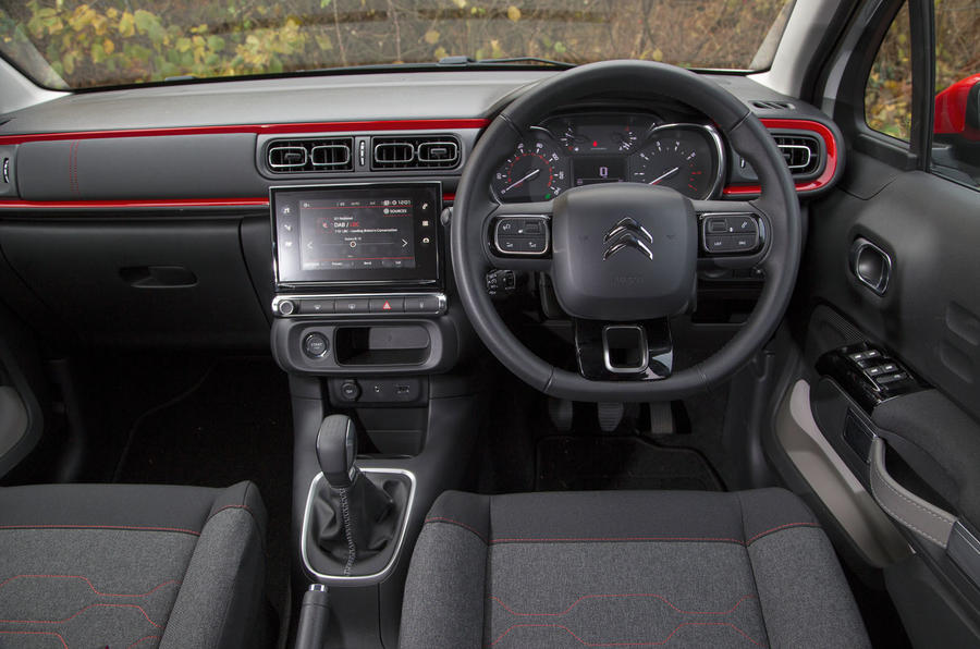 Citroën C3 dashboard