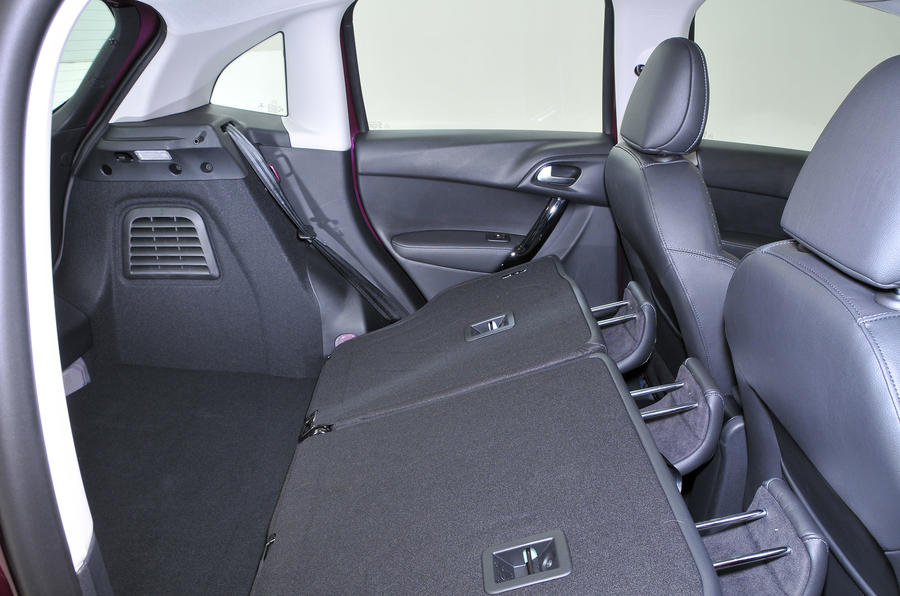 Citroën C3 extended boot space