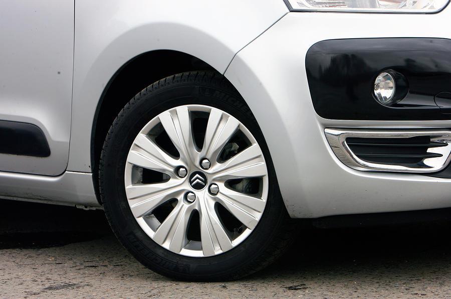 Citroën C3 Picasso 16in alloys