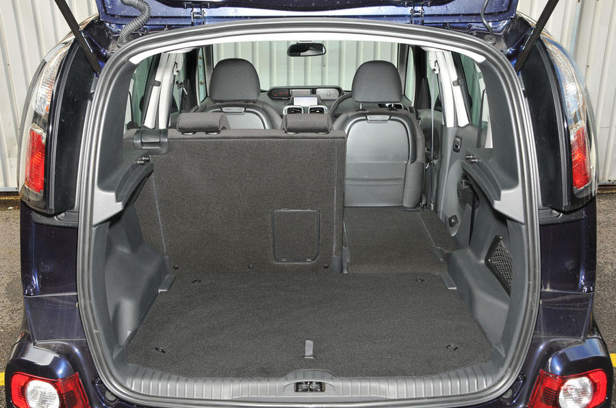 Citroën C3 Picasso boot space