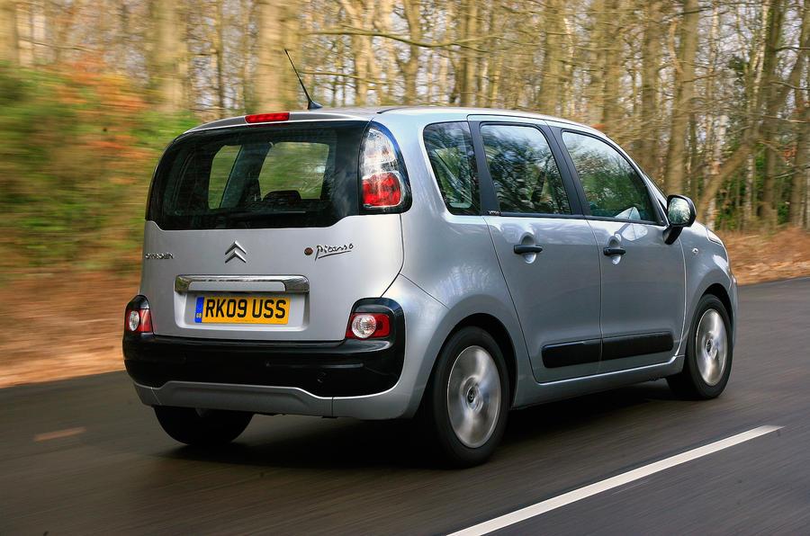 Citroën C3 Picasso rear quarter