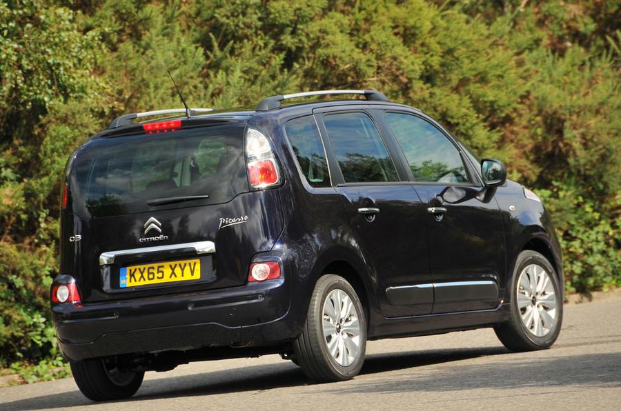 Citroën C3 Picasso rear cornering